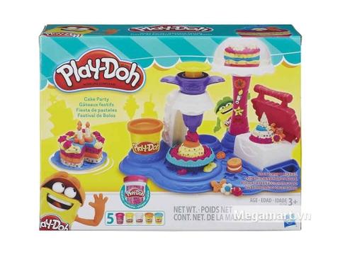 Ảnh bìa bộ đồ chơi Play-Doh B3399 - Bữa tiệc bánh ngọt