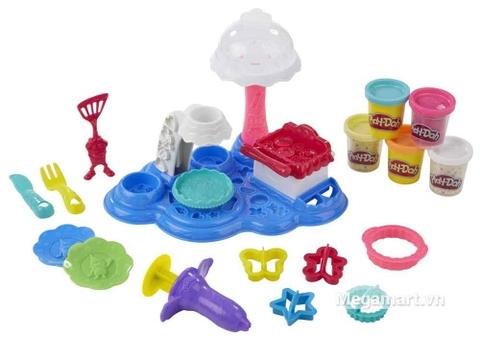 Play-Doh B3399 - Bữa tiệc bánh ngọt - bé thỏa thích làm nhiều kiểu bánh