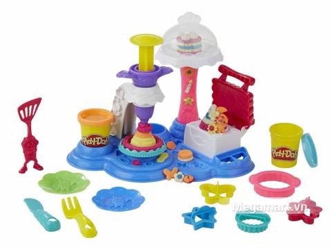 Play-Doh B3399 - Bữa tiệc bánh ngọt - bộ đồ chơi của bé gái