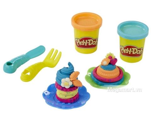 Play-Doh B3399 - Bữa tiệc bánh ngọt - thành phẩm bé tạo ra