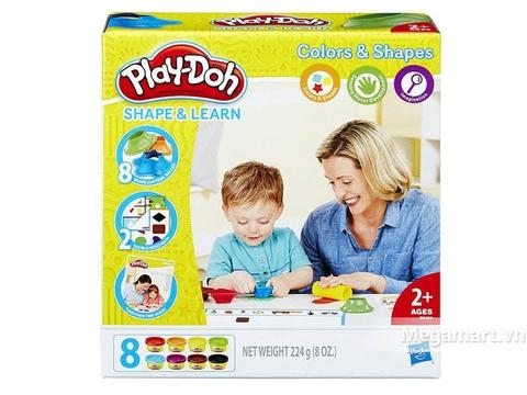 Play-Doh B3404 - Khuôn hình học đơn giản - Hình ảnh vỏ hộp
