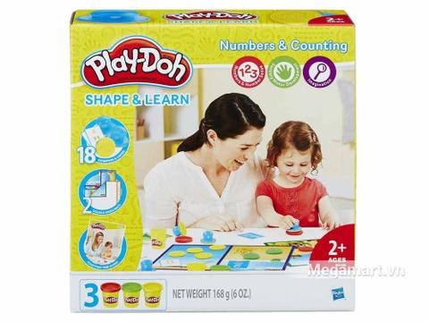 Play-Doh B3406 - Khuôn chữ số vui nhộn - Hình ảnh vỏ hộp