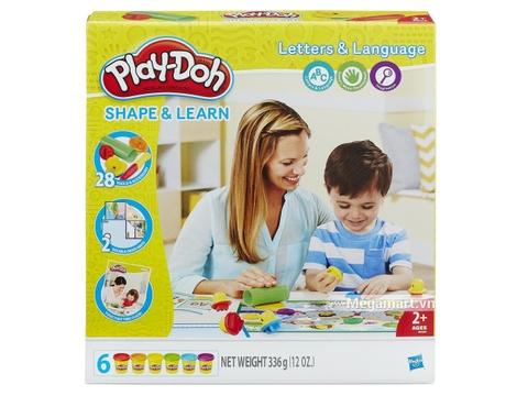 Play-Doh B3407 - Khuôn chữ cái cơ bản - Hình ảnh vỏ hộp