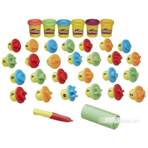 Play-Doh B3407 - Khuôn chữ cái cơ bản - Các khuôn