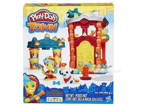 sáng tạo cùng với Play-Doh B3415 - Đội cứu hỏa anh hùng -1