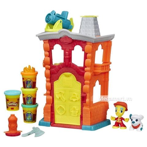 sáng tạo cùng với Play-Doh B3415 - Đội cứu hỏa anh hùng