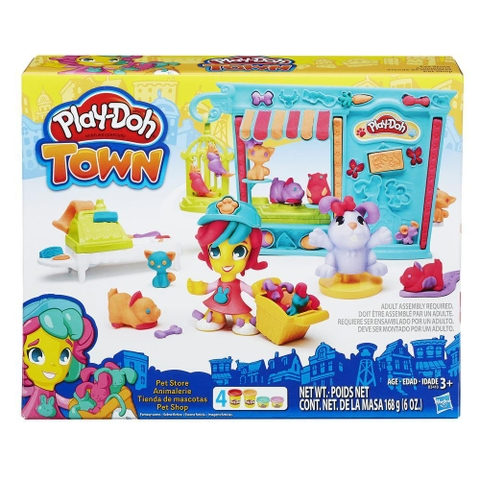 Play-Doh B3418 - Cửa hàng thú cưng - Hình ảnh vỏ hộp