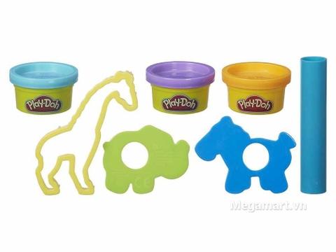 Play-Doh B4159 - Sở thú mini - bộ đồ chơi thông minh
