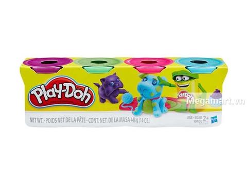 Play-Doh B5517 - Bột nặn 4 màu 448g loại thứ 2