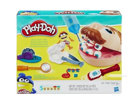 Vỏ sản phẩm đồ chơi đất nặn Play-Doh B5520 - Bác sĩ vui vẻ