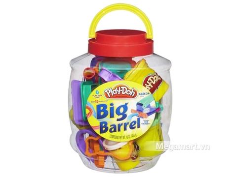 Thiết kế hộp nhựa bên ngoài của Play-Doh B6767 - Hộp dụng cụ khổng lồ