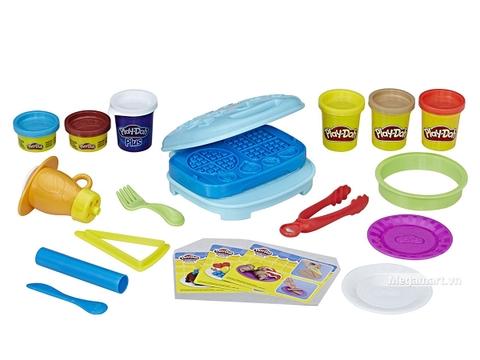 Play-Doh B9739 Máy nướng bánh kẹp - Các chi tiết có trong sản phẩm