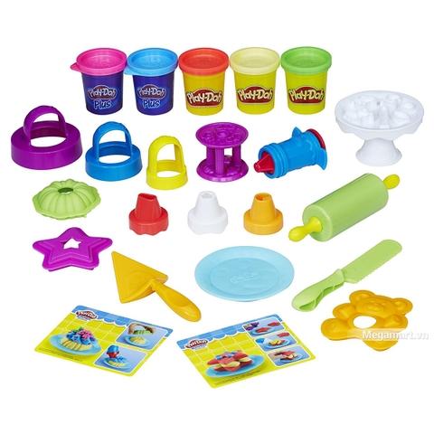 Play-Doh B9741 Tháp kem sắc màu - Với các chi tiết chính của sản phẩm