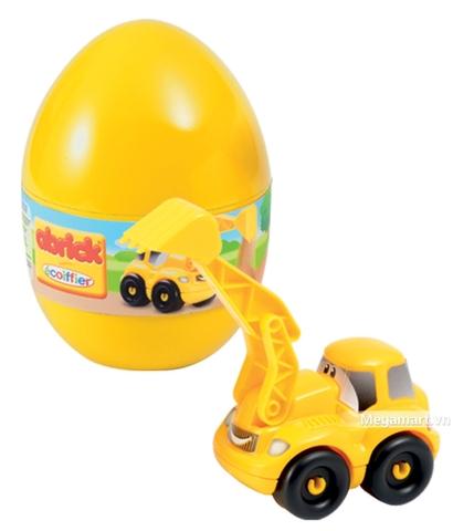 Ecoiffier Quả trứng thần kỳ giúp kích thích giác quan của trẻ nhỏ