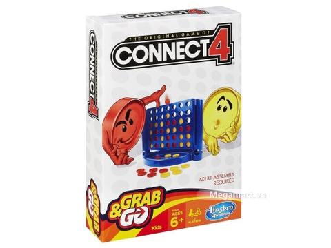Hình ảnh vỏ hộp bộ Hasbro Gaming Trò chơi ca rô Connect 4