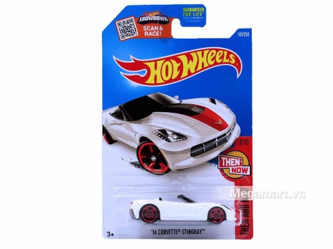 Hot Wheels '14 Corvette Stingray - sản phẩm mới