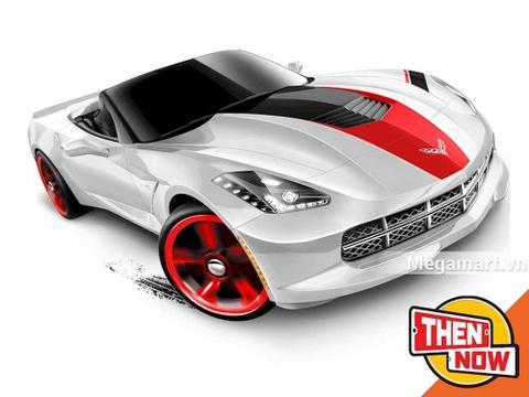 Hot Wheels '14 Corvette Stingray - xe đua cá tính