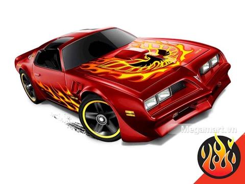 Hot Wheels '77 Pontiac Firebird - mẫu xe mới