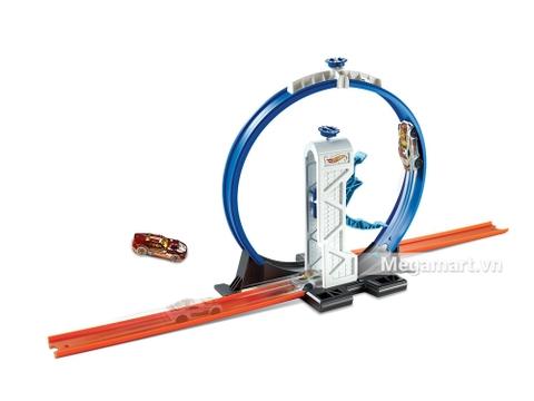 Mô hình Hot Wheels Bộ phụ kiện đường đua - Vòng xoáy trên không