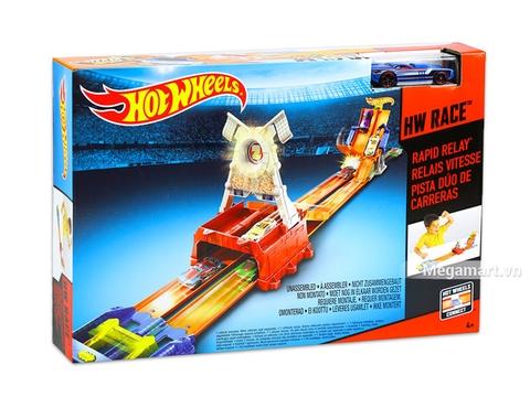 Hình ảnh vỏ hộp bộ Hot Wheels Đường đua vòng lặp