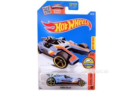 Vỏ sản phẩm đồ chơi mô hình Hot Wheels Honda Racer