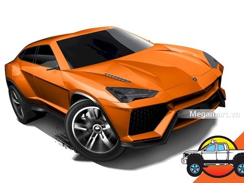 Hình ảnh vỏ hộp bộ Hot Wheels Lamborghini Urus
