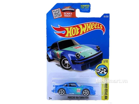Hot Wheels Porsche 934 Turbo RSR - bộ đồ chơi mới