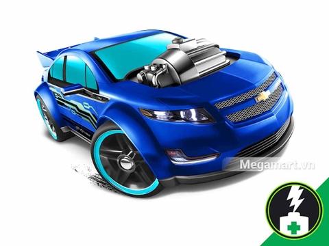 Hot Wheels Super Volt - mô hình xe ấn tượng