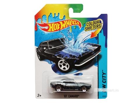 Hot Wheels Xe đổi màu '67 Camaro - đồ chơi cho bé yêu xe