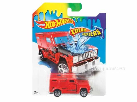 Hot Wheels Xe đổi màu Armored Truck - đồ chơi cho bé yêu xe