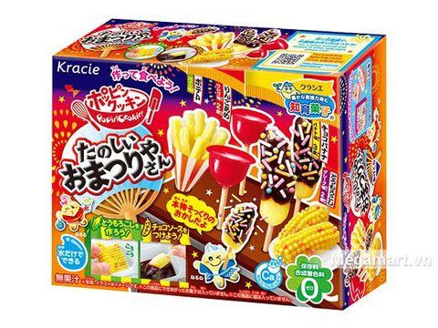 Popin Cookin làm bánh lễ hội đồ ăn vặt - đồ chơi nấu ăn Nhật Bản