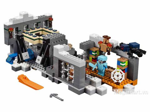 Các mô hình ấn tượng trong bộ Lego Minecraft 21124 - Cổng thông tin khổng lồ