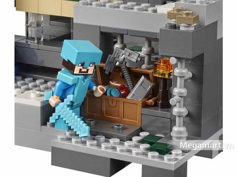 Lego Minecraft 21124 - Cổng thông tin khổng lồ - bộ đồ chơi thông minh