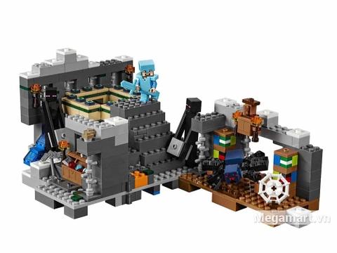 Lego Minecraft 21124 - Cổng thông tin khổng lồ - bộ đồ chơi bé yêu thích