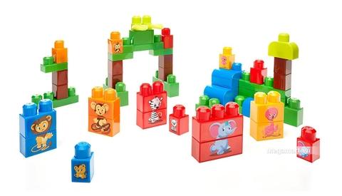 Các mô hình ấn tượng trong bộ Mega Bloks Xếp khối thú xinh