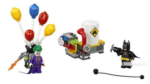Các mô hình ấn tượng trong bộ Lego Batman Movie 70900 - Joker Tẩu Thoát Bằng Bong Bóng
