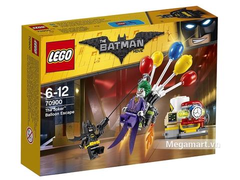 Hình ảnh vỏ hộp bộ Lego Batman Movie 70900 - Joker Tẩu Thoát Bằng Bong Bóng