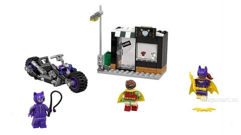 Các mô hình ấn tượng trong bộ Lego Batman Movie 70902 - Truy đuổi miêu nữ Catwoman