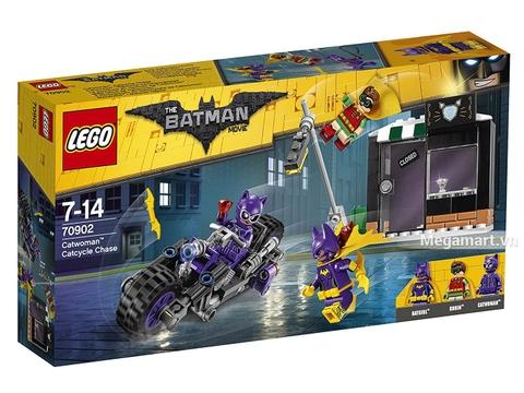 Hình ảnh vỏ hộp bộ Lego Batman Movie 70902 - Truy đuổi miêu nữ Catwoman