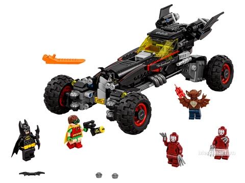 Các mô hình ấn tượng trong bộ Lego Batman Movie 70905 - Siêu xe của Batman