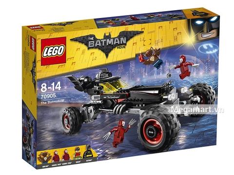 Hình ảnh vỏ hộp bộ Lego Batman Movie 70905 - Siêu xe của Batman