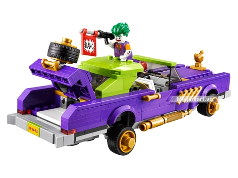 Các mô hình ấn tượng trong bộ Lego Batman Movie 70906 - Xế độ của Joker