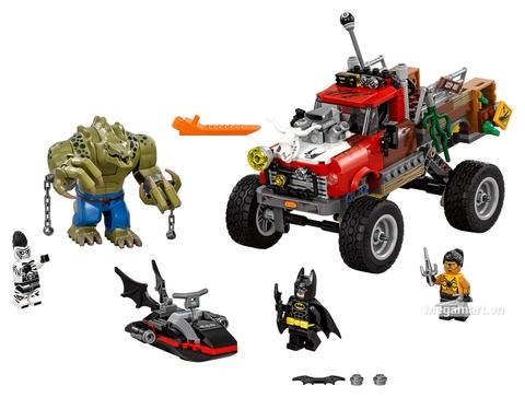 Các mô hình ấn tượng trong bộ Lego Batman Movie 70907 - Người cá sấu Killer Croc