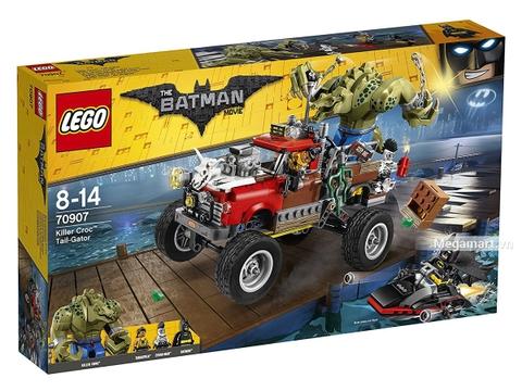 Hình ảnh vỏ hộp bộ Lego Batman Movie 70907 - Người cá sấu Killer Croc