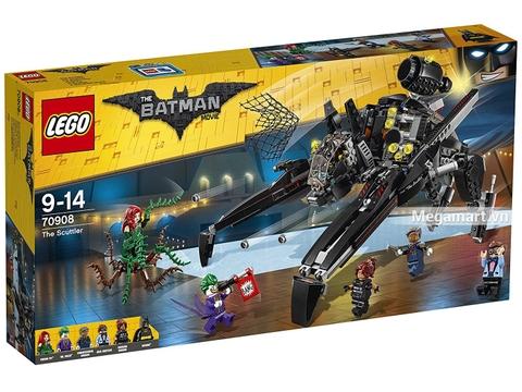 Hình ảnh vỏ hộp bộ Lego Batman Movie 70908 - Tên tội phạm Scuttler