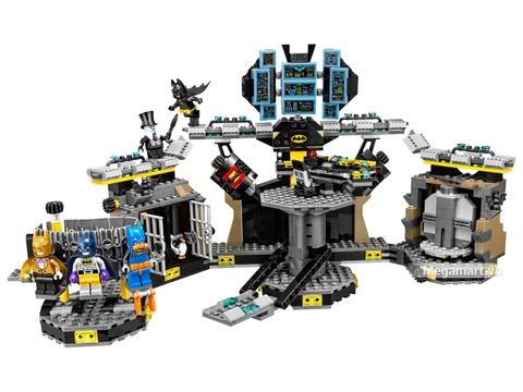 Các mô hình ấn tượng trong bộ Lego Batman Movie 70909 - Xâm nhập hang dơi
