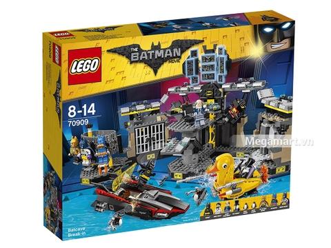 Hình ảnh vỏ hộp bộ Lego Batman Movie 70909 - Xâm nhập hang dơi