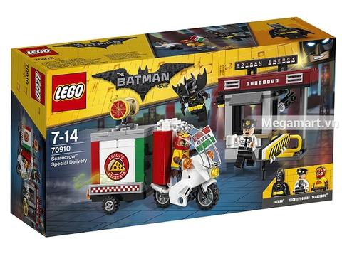 Hình ảnh vỏ hộp bộ Lego Batman Movie 70910 - Chuyến hàng đặc biệt của tên bù nhìn