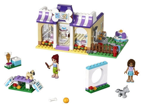 Chi tiết bộ xếp hình Lego Friends 41124 – Ngày hội thú cưng