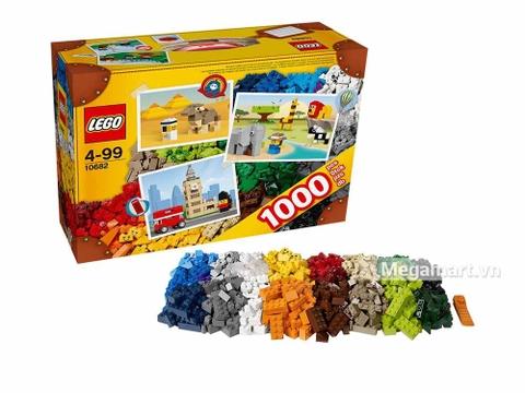 Lego Brick & More 10682 - Vali sáng tạo Lego - sản phẩm mới